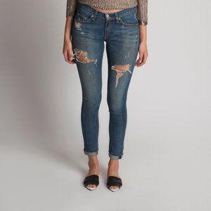 🌺 RAG & BONE Distressed Skinny Jeans